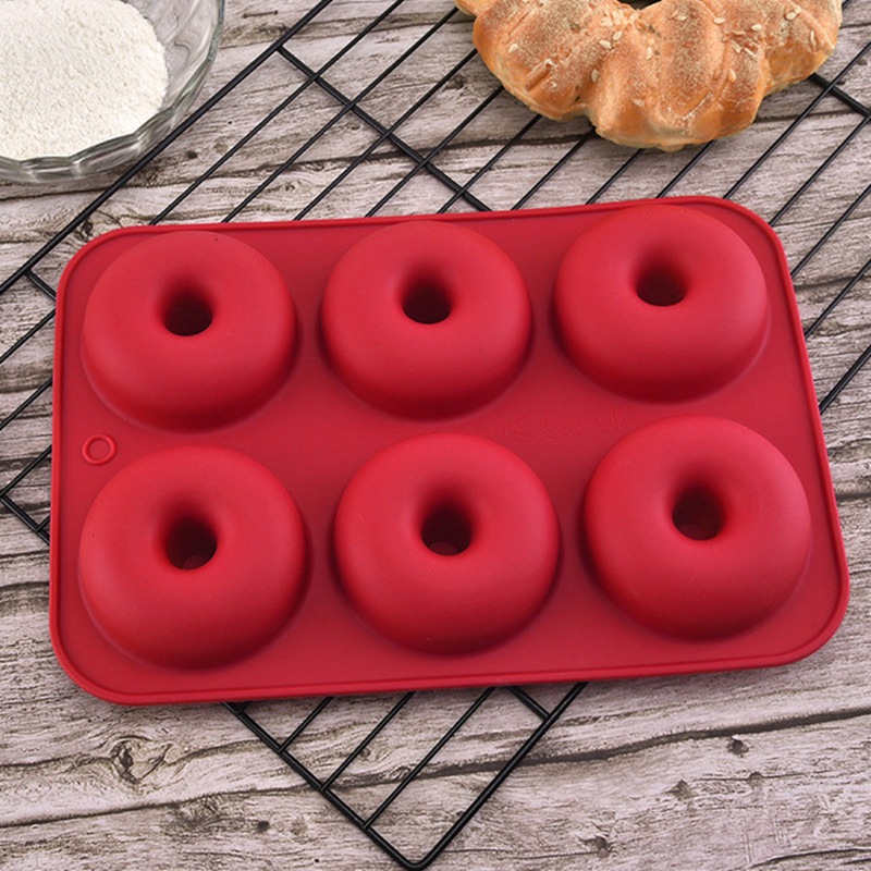 Silicone Donut Baking Pan Bake Cake Form Donuts Jelly Mold Muffin Doughnut Mold Silicone Baking Pan For Pastry