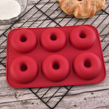 Silicone Donut Baking Pan Bake Cake Form Donuts Jelly Mold Muffin Doughnut Silicone Mold