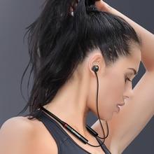 Lenovo he05x neckband fones de ouvido sem fio bluetooth 5.0 dupla estéreo graves alta fidelidade música com microfone ipx5 à prova dheadset água fone