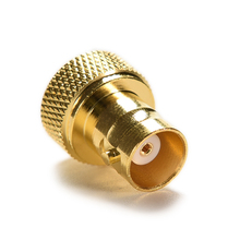 SMA-BNC Straight Gold SMA Converter SMA Male Plug To BNC Female Jack RF Coax Adapter Connector 1pc sma male plug rf coax connector pcb cable straight goldplated new wholesale