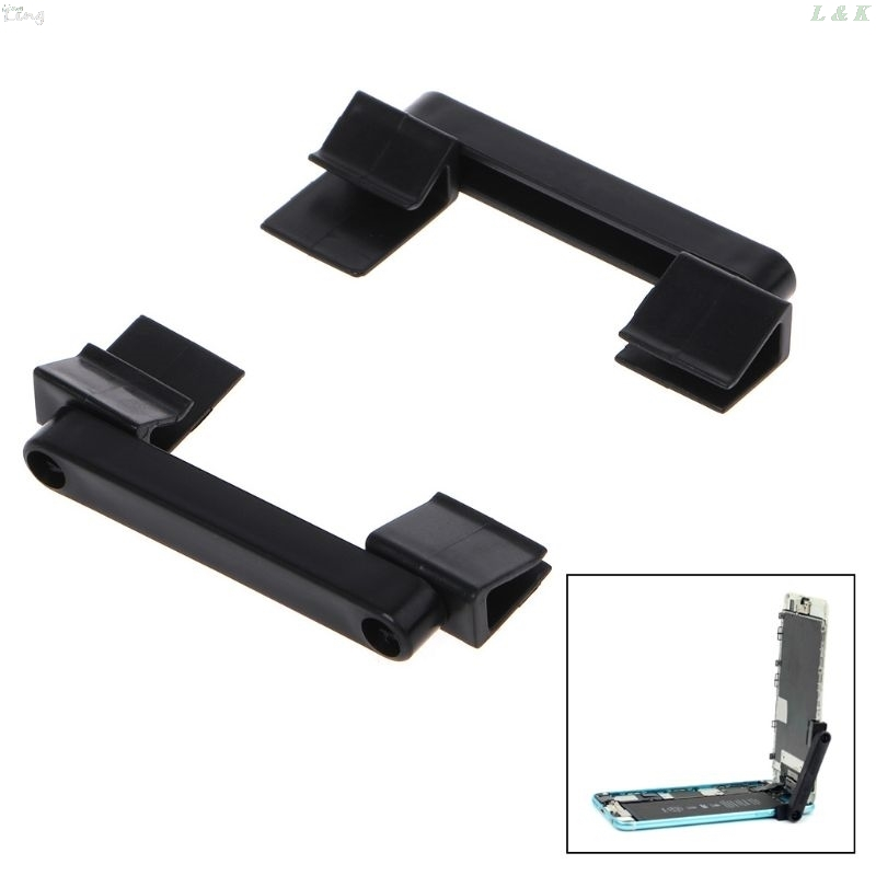 2Pcs Plastic Universal Mobile Phone Repair Holder LCD Screen Fastening Fixture Clamp Clip For IPhone IPad Repair Tool