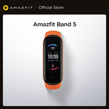 2020 New Global Version Amazfit Band 5 Smart Wristband 5ATM Heart Rate 11 Sport Mode Measure Stress Level Fitness Smart Band
