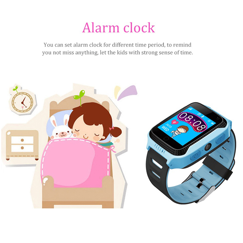 Baby Kids Smart Watch With SOS Call Camera Touch Screen Lighting GPS LBS Smartwatch Baby kids Children Watch VS Q528 Q50 DZ09 in Smart Watches from Consumer Electronics