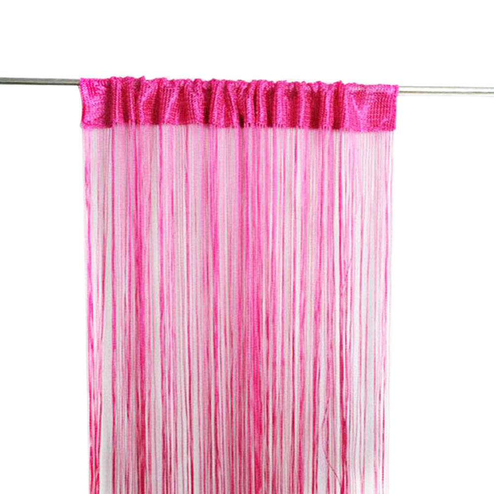 Net Curtain Window-Divider Fly-Screen Door Living-Room for Fringe Home-String Tassel