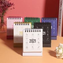 Desk-Calendar Daily-Schedule-Planner Portable DIY Mini Constellation-Series Twelve