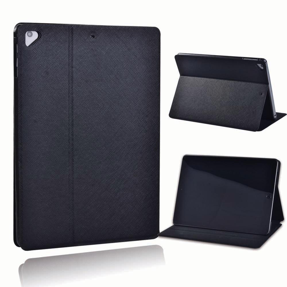 Black Black For Apple iPad 8 10 2 2020 8th 8 Generation A2428 A2429 Black PU Leather Smart