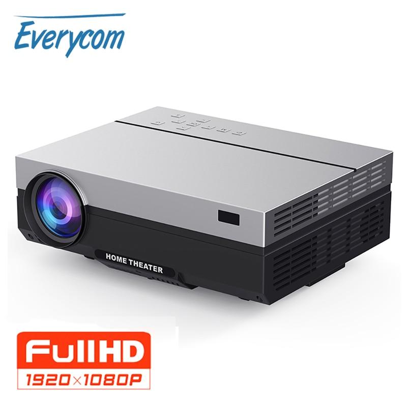 Everycom T26K จริง LCD Full HD โปรเจคเตอร์ 1080P 5500 Lumens Projecteur วิดีโอ LED โฮมเธียเตอร์ HDMI ตัวเลือก WIFI beamer-ใน โปรเจกเตอร์ LCD จาก อุปกรณ์อิเล็กทรอนิกส์ บน AliExpress - 11.11_สิบเอ็ด สิบเอ็ดวันคนโสด 1