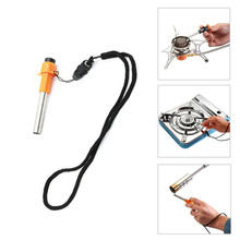 цена на Practical BBQ Lighter Outdoor Gas Stove Special Fireplace Heat Piezo Spark Igniter Furnance Lighter Electricity Furnance Lighter