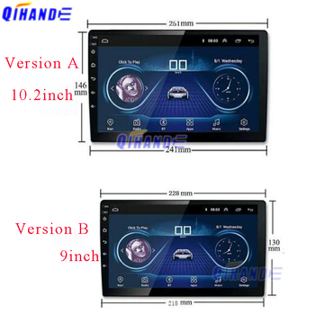 New Touch for DSP Android 10 PX6 Multimedia DVD Video Player GPS Navigation Car Radio touch screen Sensor digitizer glass panel image