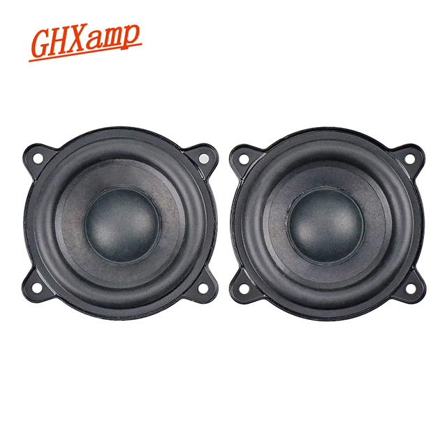 2.5 cal pełna częstotliwość głośnik 2OHM 15W Mid Bass neodymowy wzmacniacz samochodowy Home made przenośny głośnik Buletooth dla Pill XL 2 sztuk