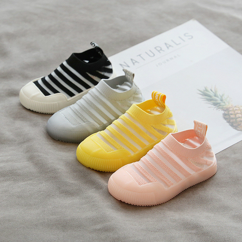 2020 New Fashion Children Flat Shoes 0-2Years Kids Baby Shoes Infant Girls Boys Soft Prewalker Casual Canvas Sneakers Shoes