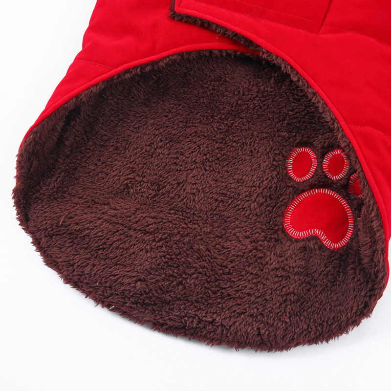 BDTHOOO, хлопок, S-XXL, зимнее пальто для собак, жилет для питомцев, кошек, щенков, теплые пуховики, одежда для домашних животных