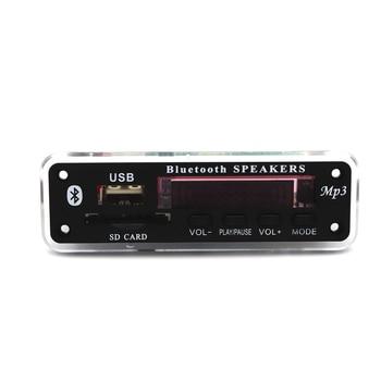 12V Wireless Bluetooth MP3 WMA Decoder Board Audio Module USB TF Radio Car Music MP3 Player Remote Control For Car accessories 1