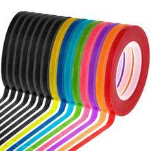 Декоративные Маскировочные Детские ремесленные ленты, клейкие ленты для художников, ленты для рисования, маркировочная лента для детей, Крафт, школьный офис