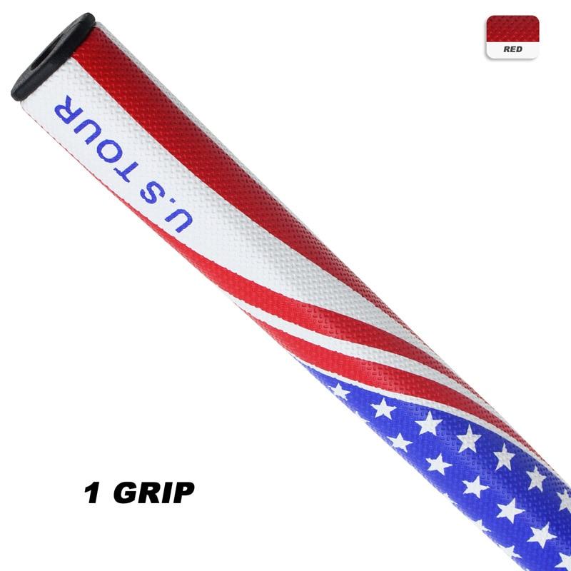 CRESTGOLF Putter Grips U.S TOUR 2.0/3.0 Golf Flag Putter Grips PU Golf Club Grips Antiskid Golf Grip