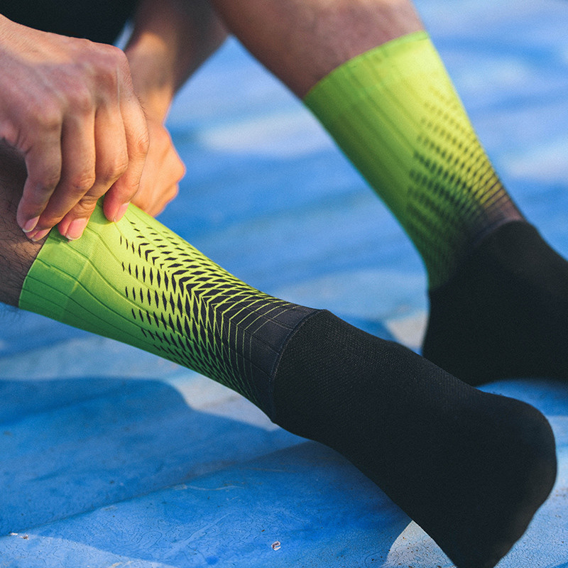 New Silicone Cycling Socks Men Women Road Bicycle Socks Outdoor Brand Racing Bike Compression Sport Socks Calcetines Ciclismo