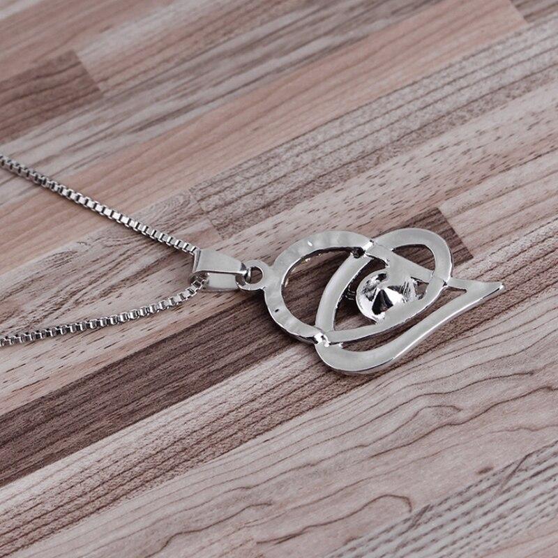 爱心项链-4
