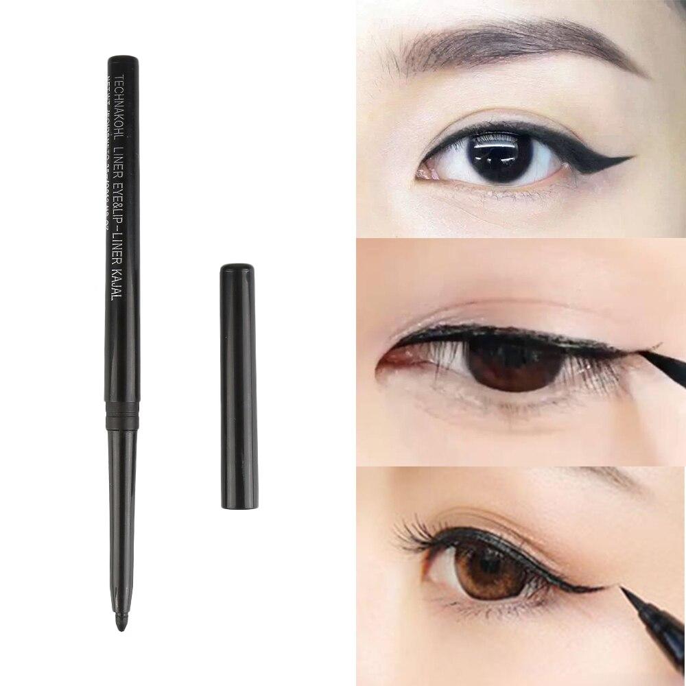 1pcs Waterproof Eyeliner Pencil Long Lasting Classical Black Eye Liner Women Makeup Cosmetic Maquiagem Profissional Completa