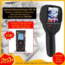 HT 18 الرقمية الحرارية التصوير الكاشف يده كاميرا حرارية الأشعة تحت الحمراء ميزان الحرارة درجة الحرارة متعددة الوظائف عالية الدقة