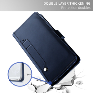 Image 5 - For Samsung Galaxy S20 S20 Plus Case Leather Flip Stand Wallet Shockproof Cover with Card Slot for Samsung S20 Ultra Case Mirror
