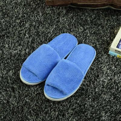 Высококачественные Новые простые тапочки унисекс для путешествий, спа переносные Тапочки одноразовые домашние тканевые тапочки из хлопка для гостей