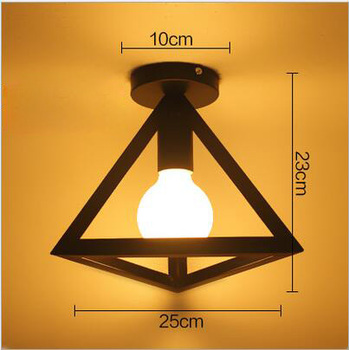 4/6/8 Heads Multiple Rod Wrought Iron Ceiling Light Retro Industrial Loft Nordic Dome Lamp for Home Decor Dinning Cafe Bar 9