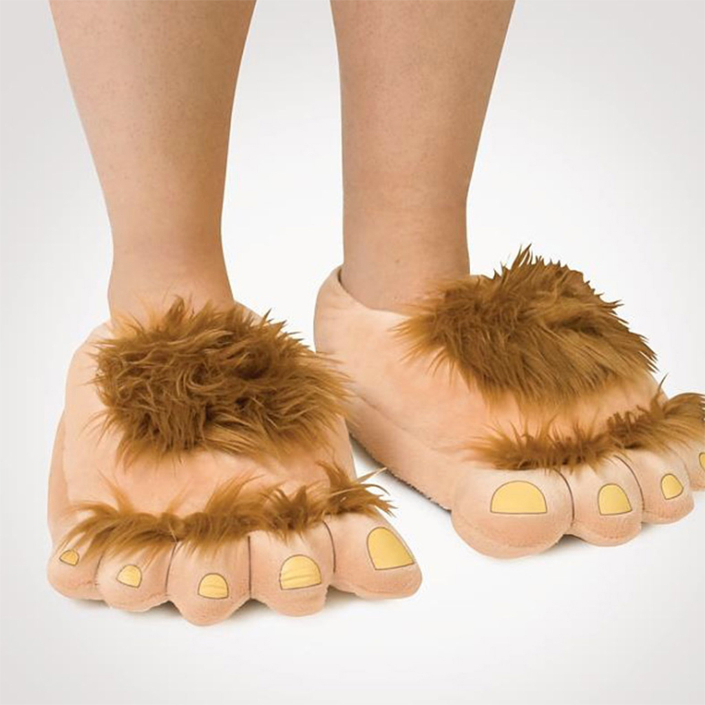Furry Monster Slippers 1