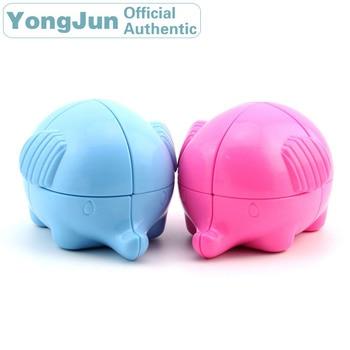 YongJun Elephant 2x2x2 Magic Cube YJ 2x2 Professional Neo Speed Puzzle Antistress Educational Toys For Children yongjun mirror 2x2x2 magic cube yj 2x2 professional speed puzzle antistress educational toys for children