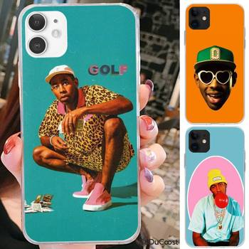 Pop Rap Singer Tyler Creator Hard Phone Case For iPhone 7 8 Plus X XS Max XR Coque Case For iphone 5s SE 2020 6 6s 11Pro image