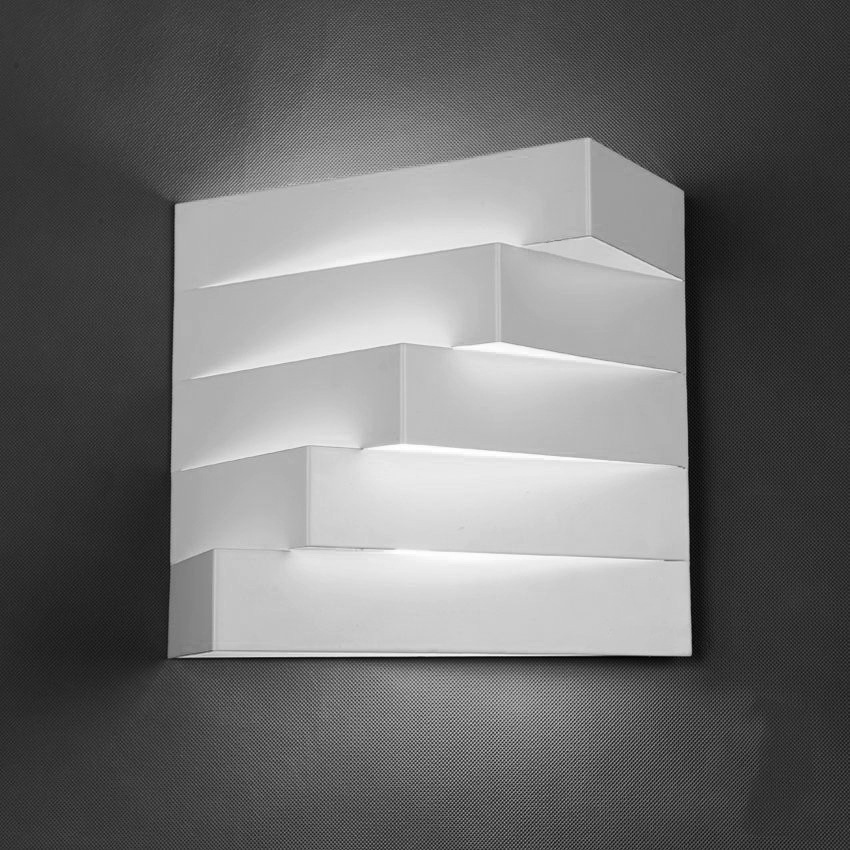 New Style Wholesale Modern Minimalist Creative Cool Living Room Bedroom Hallway Corridor Balcony Geometry Space LED Wall Lamp Downlights     - title=
