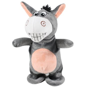 Electronic Interactive Toys Cute Electric Voice Recording Donkey Moving Talking And Walking Donkey Toys Birthday Gifts For Kids face change recording voice change smart robots voice control educational interactive toys rc robots for children kids