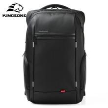 Купить с кэшбэком Kingsons Brand External USB Charge Antitheft Notebook Backpack-B Design for Women 15.6'' Waterproof Laptop Backpack Computer Bag