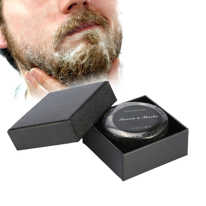 Men's Natural Soft Shaving Cream Shaving Soap For Men Lather Barber Salon Shave Beard Cream Soap Facial Cleaning Tools