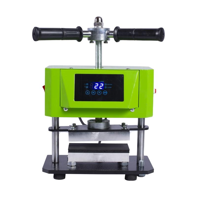 On Sale 6cm X 12cm Twist Manual Rosin Press Machine Dual Heat Heating Plate Heat Press Machine Dual Heating AP1907
