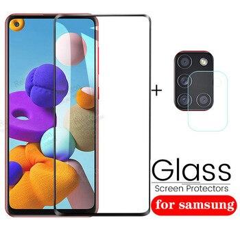 Перейти на Алиэкспресс и купить 1-2 шт закаленное стекло для Samsung Galaxy A21S Защитная пленка для объектива камеры для Samsung Galax A21 S A 21 S 21 S