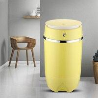 220 v/50 hz 3.5kg 반자동 단일 실린더 미니 세탁기 세탁기 휴대용 세탁기