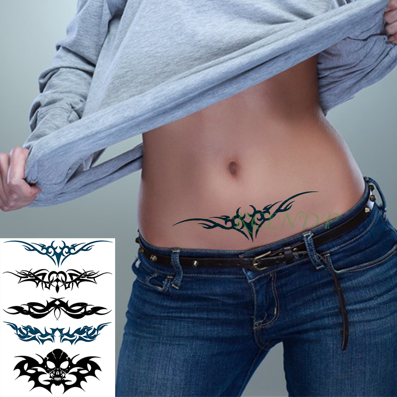 Waterproof Temporary Tattoo Sticker Symbol Totem Wing Tatto On Leg Arm Back Tattos Flash Tatoo Fake Tattoos For Girl Men Women