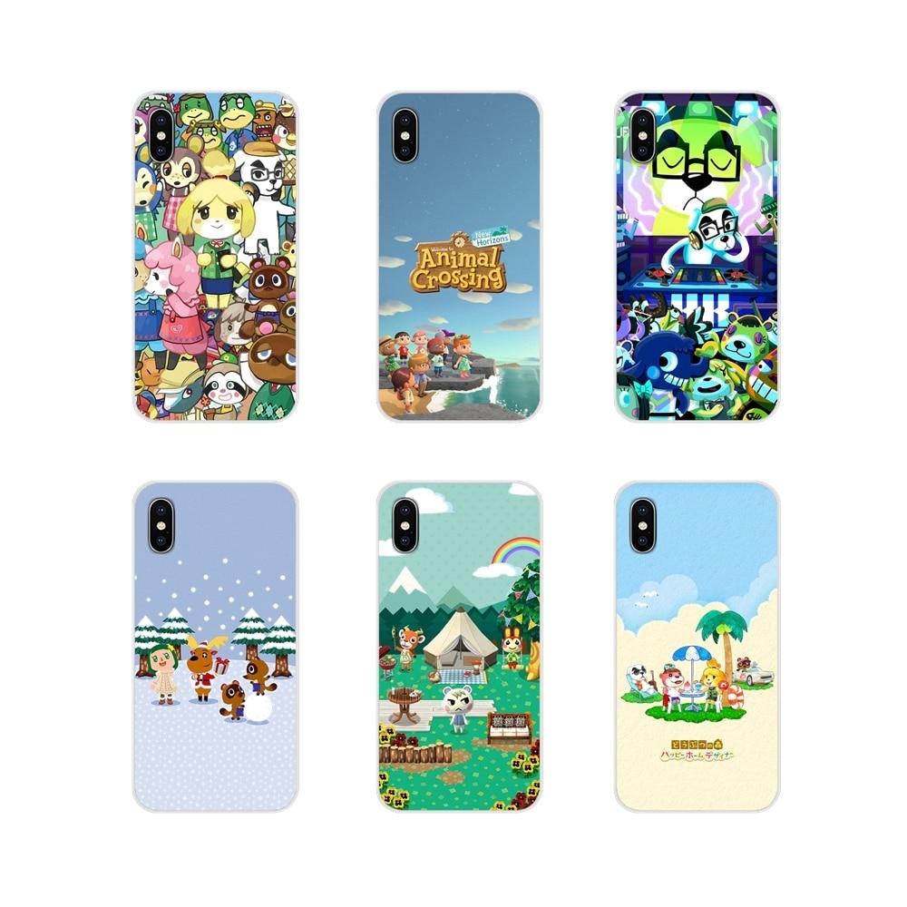Animal Crossing Accessories Phone Cases Covers For Motorola Moto X4 E4 E5 G5 G5S G6 Z Z2 Z3 G G2 G3 C Play Plus