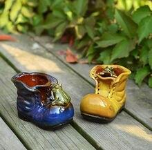Керамические вазы для цветов декоративные суккулентные цветочные