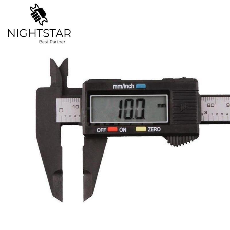 6inch LCD Digital Electronic Carbon Fiber Vernier Caliper Gauge Micrometer Measuring 0-150mm