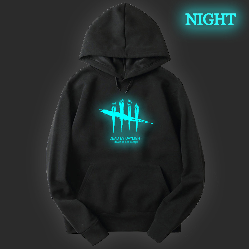 Autumn Men Fashion Sportswear Dead By Daylight Print Hoodies Boys Cotton Hooded Pullovers Unisex Harajuku Streetwear Sweatshirts