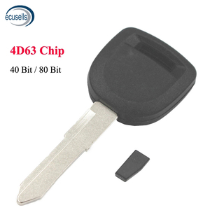 Car Transponder Key Blank Shell Fob for Mazda M3 M5 M6 RX8 CX7 CX9 with 4D63 Chip 40 Bits or 80 Bits