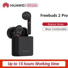 HUAWEI FreeBuds 2 FreeBuds 2 Pro Bluetooth 5,0 Dynamische HWA Drahtlose Kopfhörer Stimme Befehl Drahtlose Lade Box Wasserdichte IP54