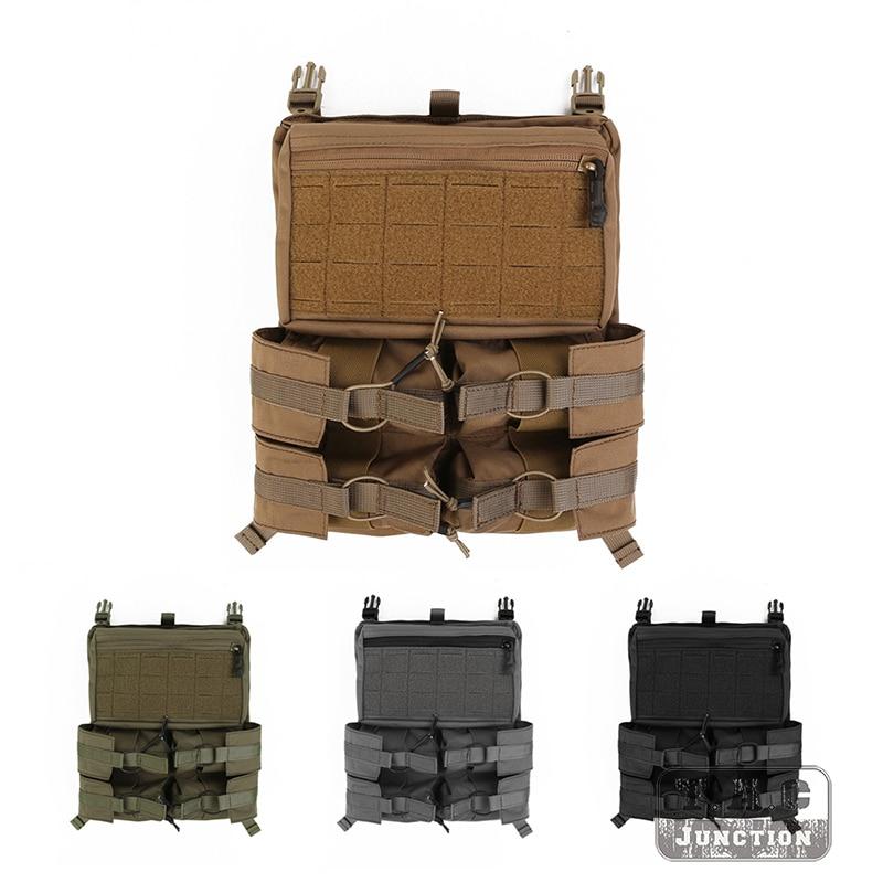 Emerson Tactical LBX-4040B Banger Back Panel Outdoor Battle Water Bag Grenade Tools Armatus II Plate Carriers For LBX-4020 Vest
