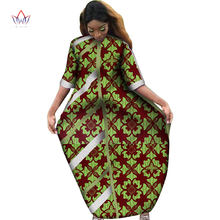 2020 африканские платья для женщин с принтом драпированные прямые