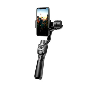 Image 5 - AoChuan SMART XR/S1 stabilizzatore telefonico palmare a 3 assi con giunto cardanico Bluetooth per IOS Android PK Smooth 4 MOZA MINI MX Hohem Isteady X
