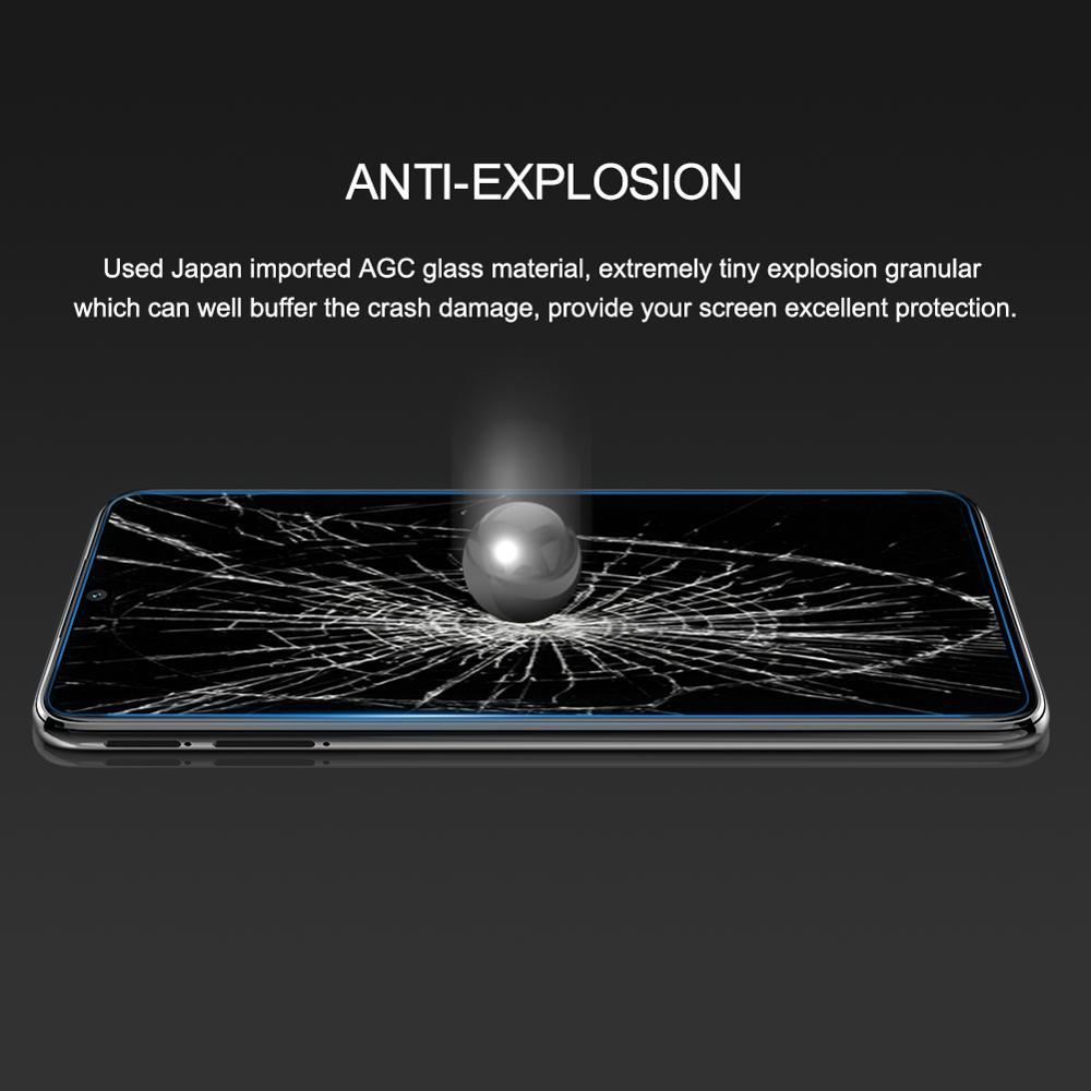 Xiaomi redmi not üçün 8 pro şüşə Qeyd 9 Pro Nillkin Amazing H - Cib telefonu aksesuarları və hissələri - Fotoqrafiya 5