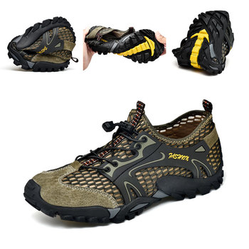 Man Hiking Shoes Non-slip Waterproof Shoes Men Women Quick Dry Sneakers Comfortable Trekking Water Shoes Multifunctional Outdoor 3