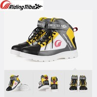 Men Women Shoes Motorcycle Summer Winter Colorful Fashion Design Breathable Non slip Wear resistant Protective Riding Boot A018