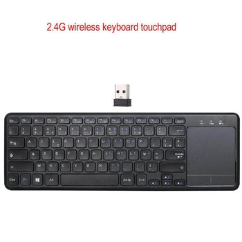 2.4G Wireless Keyboard With Touchpad Ultra-Thin Office Mouse Notebook Computer Accessories